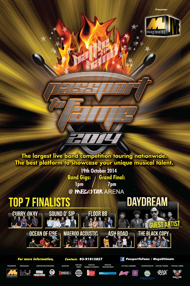 Passport to Fame 2014 : Grand Final