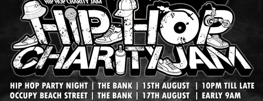 Hip Hop Charity Jam 15-17 August @ Penang!